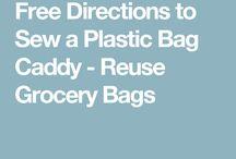 Plastic bag caddy