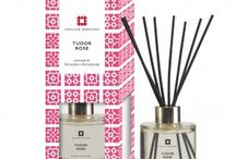 The English Heritage Home Fragrance Collection / The English Heritage Home Fragrance collection made by Woods of Windsor, is a range of three different home fragrances inspired by three unique English Heritage locations – Kenilworth Castle, Osborne House and Eltham Palace.