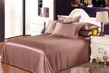 Silk Flat Sheets / Classic seamless silk flat sheets online: https://www.vansilktextile.com/bedding/flat-sheets.html