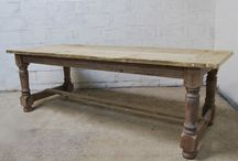 refectory tables