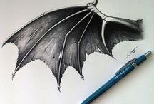 anielskie diabelskie skrzydła