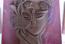 my art.. / ceramic,art,school work, labor...