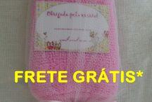toalhinha / Lembrancinhas feitas de toalhinha de mão!!