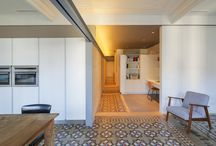 THE VVALL / Dwelling in Eixample Dret district, Barcelona Photography: nieve | Audiovisual productions | Barcelona