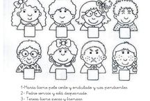 material escolares / by Sandra M