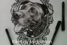 Tatueringar porträtt