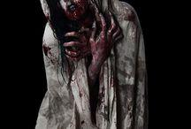 dark/blood