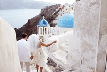 Santorini weddings: