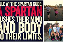 Spartan SGX Obstacle Course Training / We coach EVERYONE to get off the couch and move your bodies - remember they are a gift - don't waste it!  / by Shannon Yontz