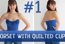 Corset Academy Courses / Online sewing courses on how to make wedding dresses, evening gowns, corsets and garments with build-in corsets. DIY sewing courses