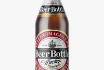 Beer PSD Mockups