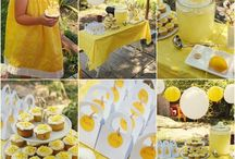 Yellow theme party ideas
