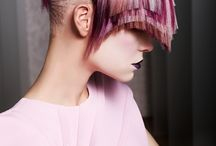 Creative hair colours and cuts