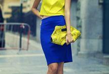 Żółty&niebieski