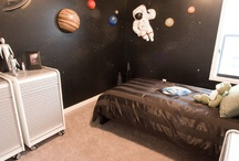 space themed boy's room / by Heather Hodges