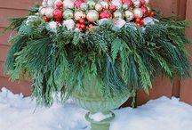 Pot Decoration / Christmas