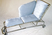 Shopping cart seat upcycle / Shopping cart seat upcycle