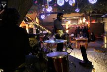 Unplugged Courtyard / BLUES- The drummer sets the music scene crazy at Unplugged,  CP, New Delhi