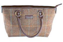 Tweed Handbags & Purses / A beautifully collection of ladies tweed handbags and purses.