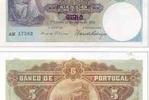 Portugal moedas / notas