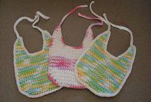 Bavettes pour bébé - crochet