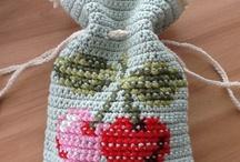 Cross stitch on single crochet