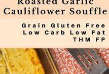 Low Carb Cauliflower Recipes / #keto #lowcarb #cauliflower #lchf