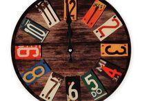 Hodiny / Nástěnné hodiny, krbové hodiny, stolní hodiny, industriální hodiny, interiérové i exteriérové hodiny, dekorační hodiny.... hodiny s levandulí, hodiny s růžemi, hodiny Paris, budíky, hodiny s kalendářem....