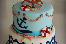 Deniz temalı pastalar