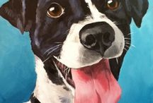 PET portraits / Beautiful animal art made by artists around the world.