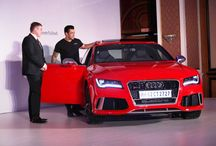 Audi RS7 / Developed and assembled by quattro® GmbH, Audi's boundary-pushing performance division has built the Audi RS7 to be the most powerful RS model