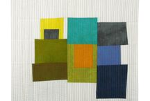 SAQA Auction 2014 / My favorite quilts up for auction at the Studio Art Quilt Associates auction in September 2014.