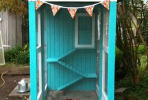 Chickens / Ideas for chicken coops and keeping chickens.