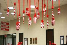 holiday office decorations