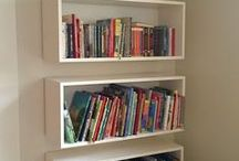books shelfs