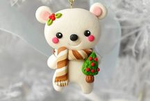 polymer clay ornaments