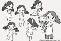 Super cute character