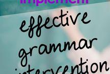 Expressive receptive language