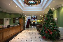 Christmas time at the Dromhall Hotel