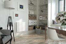 Radiateur décoratif - Salon / Décoration et aménagement de salons avec des radiateurs connectés décoratifs