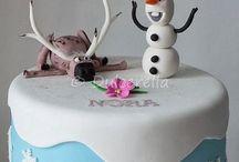 Cupcakes / Frozen verão