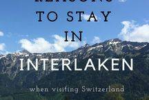 Explore Switzerland / Tips, tricks and ideas for exploring Switzerland