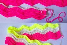 Knitting and crochet/Strikking og hekling / by Grethe Johansen