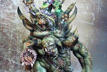 Age of Sigmar - Nurgle / Age of Sigmar | Chaos Grand Alliance | Nurgle Rotbringers | Collection of miniatures painted by modellers from all over the world.