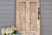 Exterior: Front Doors / Front door dreaming - painted doors - wood doors - old doors - new doors, all of them can be inspirational! / by Christina's Adventures