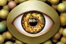 """Real Eyes, Reralize, Real lies / """"The eye is like a mirror, and the visible object is like the thing reflected in the mirror""""- Avicenna, early 11th century"""