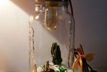lamp design / scene, still life