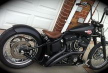 • Harleys • / Motorbikes Harley Davidson