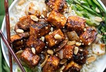 vegetarian, tofu etc