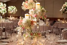 Table settings and backdrops on special occasions